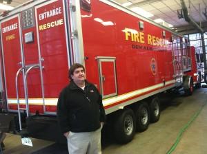Frank & Fire Truck