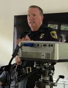 Photo: Dunwoody Police Chief Billy Grogan