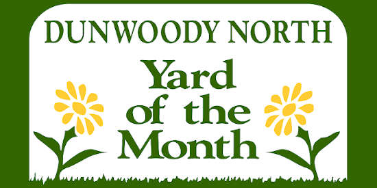 Yard of the Month sign